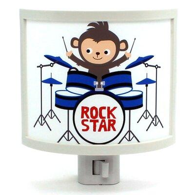 Monkey Band Drummer Night Light