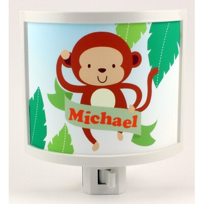 Monkey Personalized Night Light