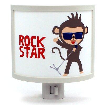Monkey Band Singer Night Light