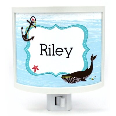 Nautical Namedroppers Personalized Night Light