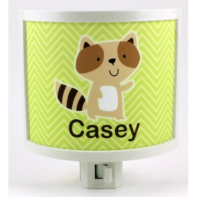 Raccoon Personalized Night Light