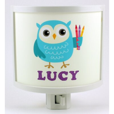 Ray the Blue Owl Night Light RAYOWL