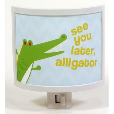 See You Later, Alligator Night Light