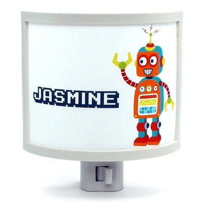 Copper Bot Personalized Night Light