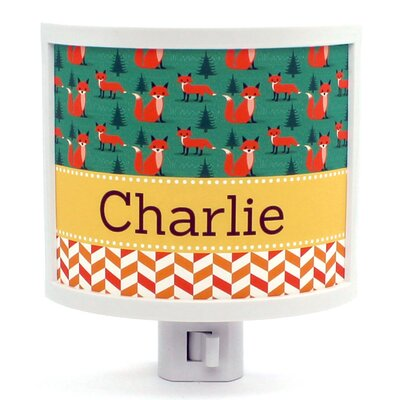 Foxfield Personalized Night Light