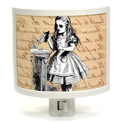 Drink Me Alice Night Light