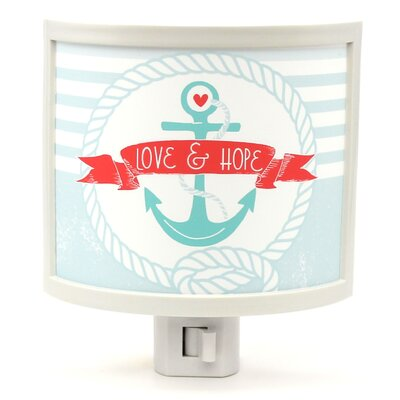 Anchor Me with Love and Hope Night Light