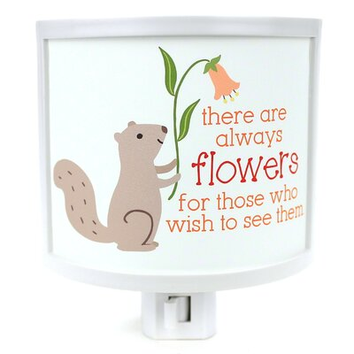 Always Flowers Night Light