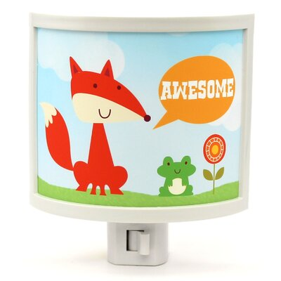 Awesome Fox Night Light