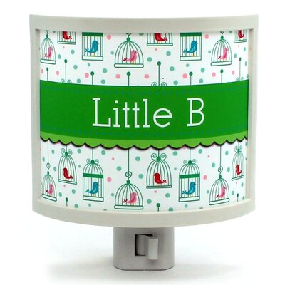 Birdcages Personalized Night Light