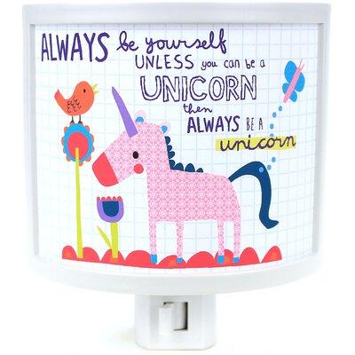 Always Be a Unicorn Night Light