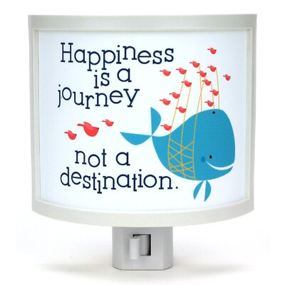 Happiness is a Journey Night Light