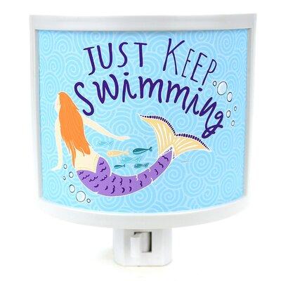 Keep Swimming Night Light