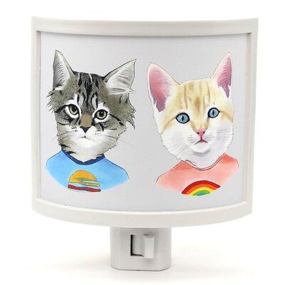 Kitten Duo Night Light
