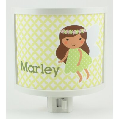 Green Fairy Personalized Night Light