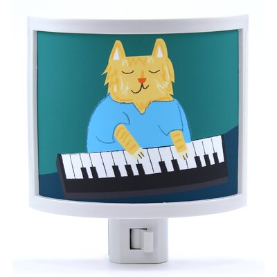 Keyboard Cat Night Light