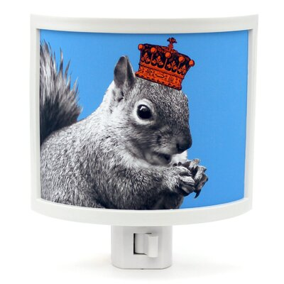 Squirrels Rule Night Light