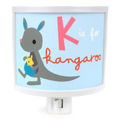 K is for Kangaroo Night Light