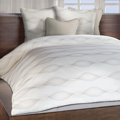 Linea Duvet Cover Size: Queen
