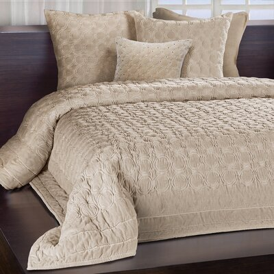 Meridian Quilt Size: Queen, Color: Sand