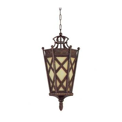 4-Light Hanging Foyer Pendant