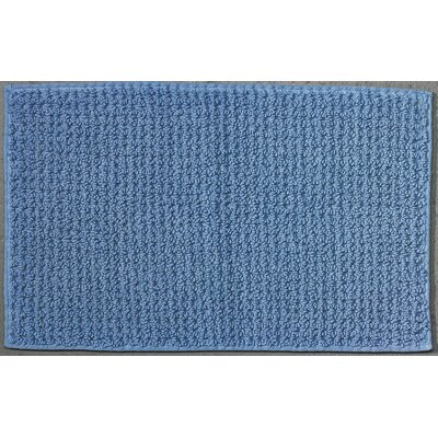 Waffle Reversible Cotton Rug Color: Placid Blue