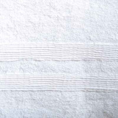 Allure Turkish Cotton Bath Sheet Color: White