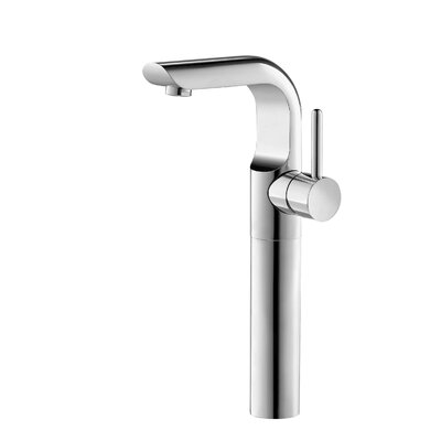 Single Handle Vessel Faucet Finish: Brushed Nickel