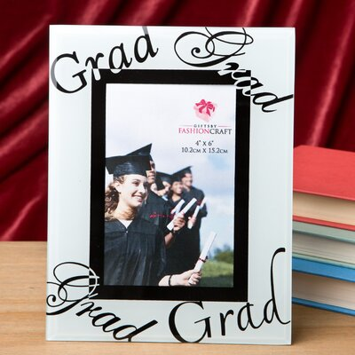 Fabulous Graduation Glass Picture Frame