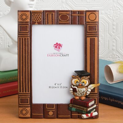Graduation Owl Picture Frame