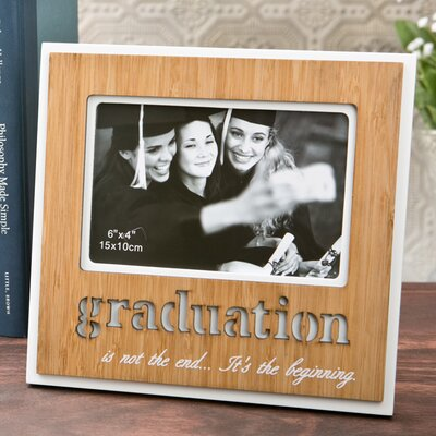 Laser Engraved Graduation Picture Frame