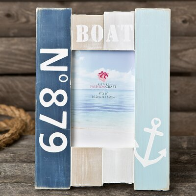 Anchor Boat Picture Frame