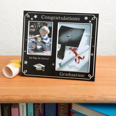 First Day of School and Graduation Picture Frame
