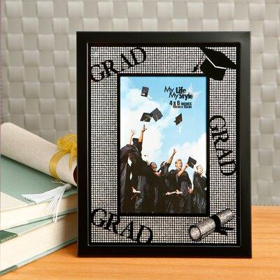 Glitter Stone Graduation Picture Frame