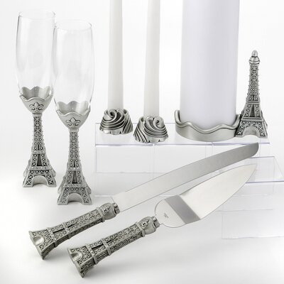 Eiffel Tower Theme Wedding Reception Set
