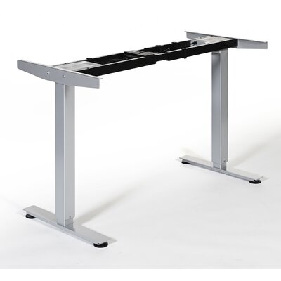 Quadro Height Adjustable Standing Frame Finish: Silver