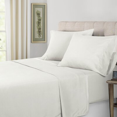Sheet Set Color: White, Size: California King