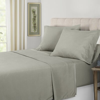 Sheet Set Color: Gray, Size: Queen
