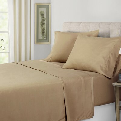 Sheet Set Size: King, Color: Beige