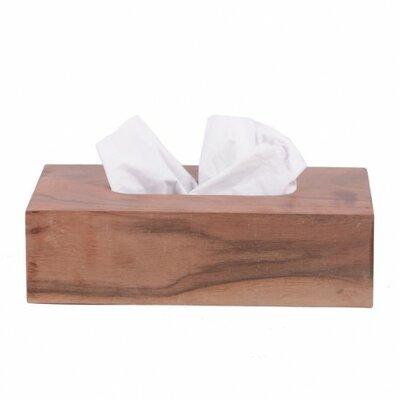 Abdeckung für Reinigungstücher Cubic Mint | Heimtextilien > Hussen und Überwürfe | Beige | Holz | Houseproud