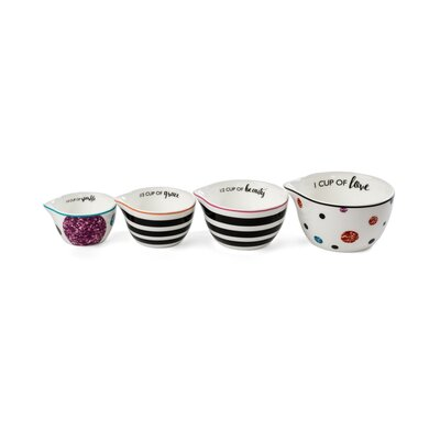 4 Piece Ceramic Measuring Cup Set M10262-67425