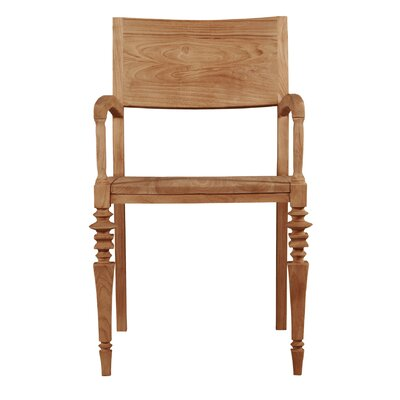 Glam Solid Wood Dining Chair