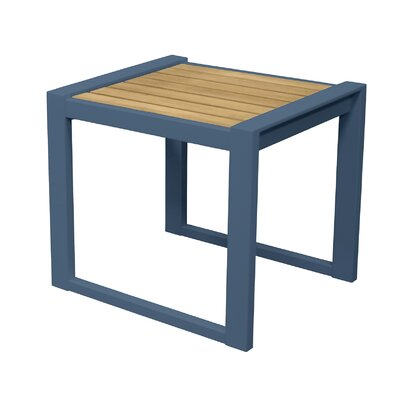 California Room End Table Color: Slate Blue