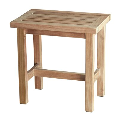 Spa Teak Free Standing Shower Seat