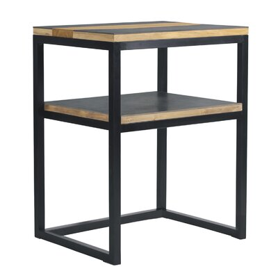 Studio End Table Finish: Black
