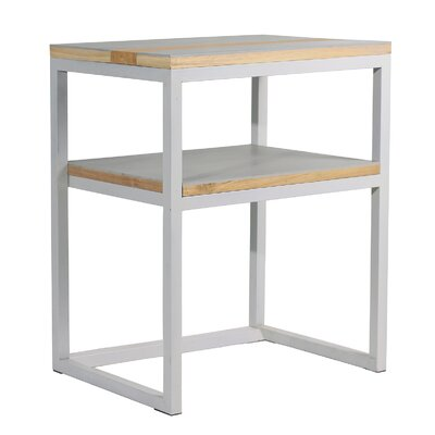 Studio End Table Color: Gray