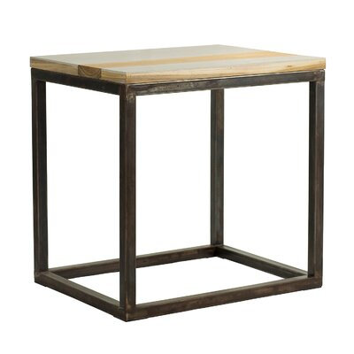 Studio End Table Finish: Rust