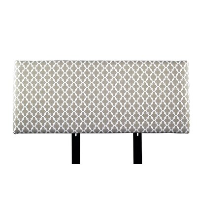 Alice Fulton Upholstered Panel Headboard Size: Full, Upholstery: Beige/Tan