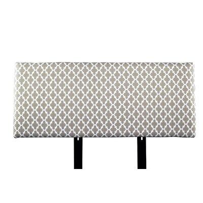 Alice Fulton Upholstered Panel Headboard Upholstery: Beige/Tan, Size: Full