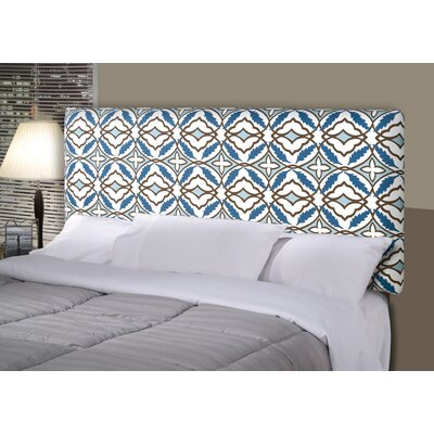 Eden Alice Upholstered Panel Headboard Upholstery: Cadet, Size: Queen